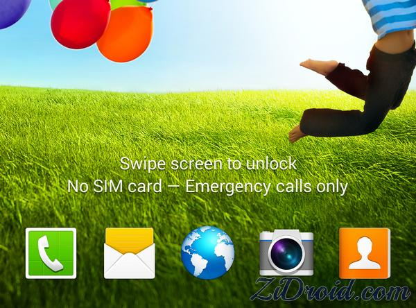 Lock Screen Custom Apps Shortcut