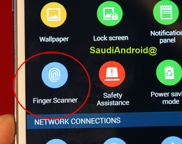 Galaxy S5 Fingerprint App