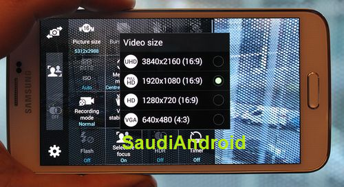 Galaxy S5 4K Video Recording
