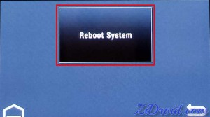 Reboot System