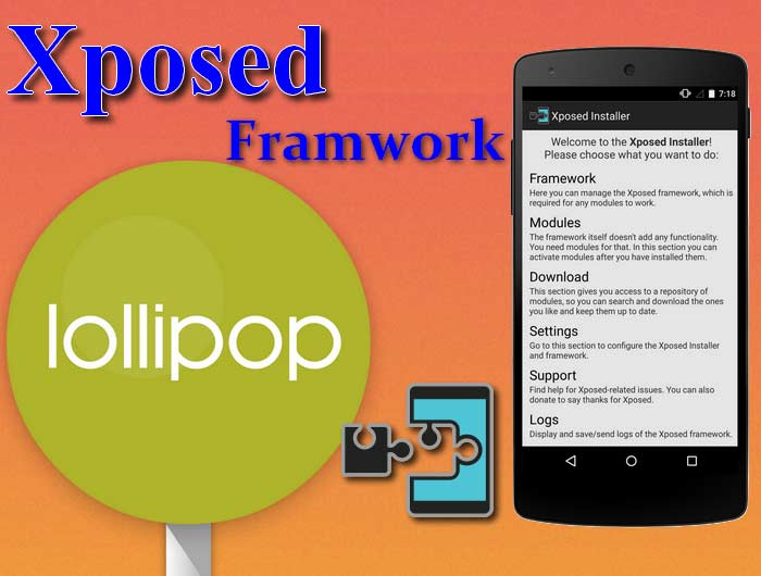 Xposed for Android Lollipop