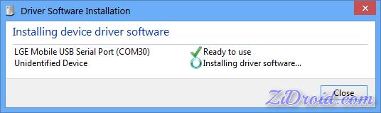 LG Driver Installation