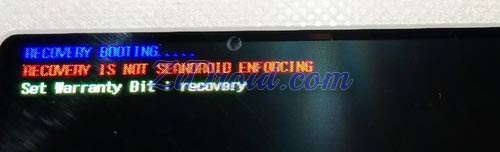 Recovery Booting....