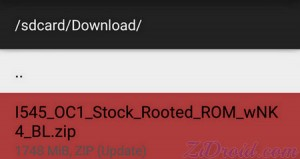 FlashFire I545 Stock Rooted Lollipop
