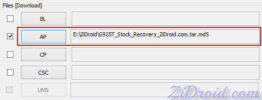 Download Stock Recovery for All Galaxy S6 Edge Variants – ZiDroid