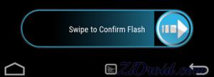 TWRP Swipe to Confirm Flash