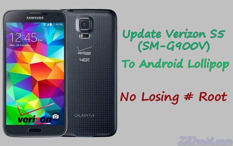 Keep Root Verizon Galaxy S5 OE1