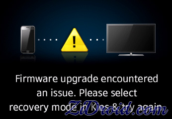 failed to update firmware on samsung galaxy note 4