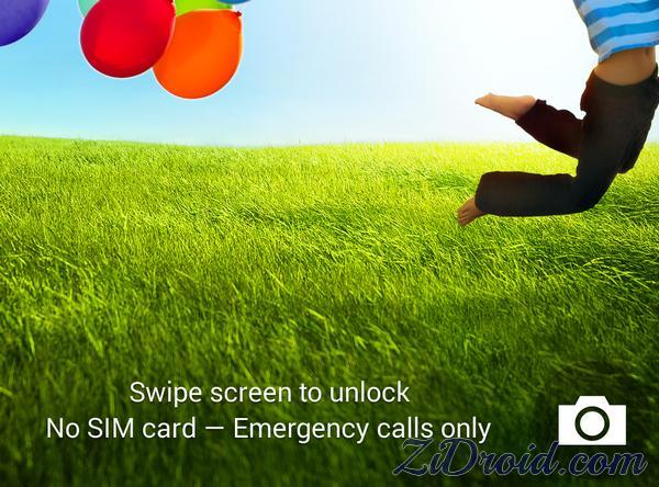 Lock Screen Camera Shortcut