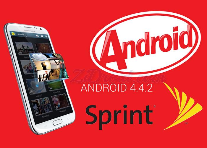 Sprint Galaxy Note 2 KitKat