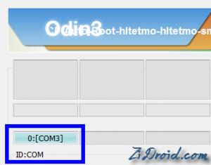Odin3 ID:COM Section