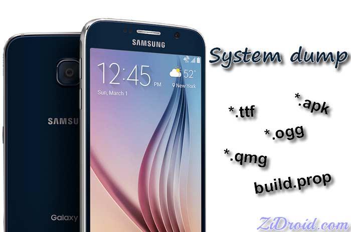 Galaxy S6 System Dump