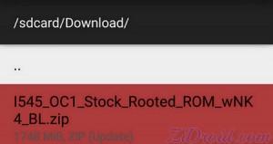 FlashFire I545 Stock Rooted Lollipop