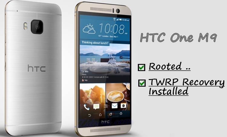 Root HTC One M9 TWRP