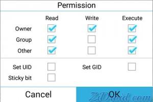 System Folder Permission