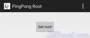 PingPong Root Get Root Button